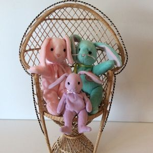 Hippity, Hoppity and Floppity Spring Bunnies by Ty